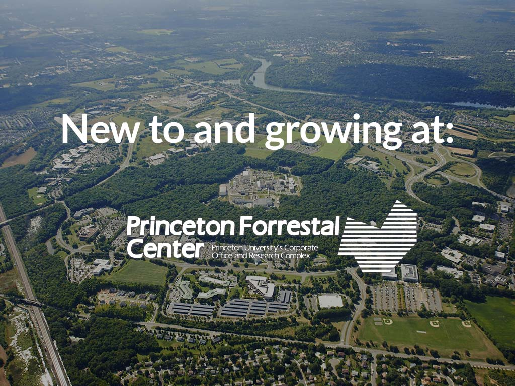 New to and growing fast at Princeton Forrestal Center